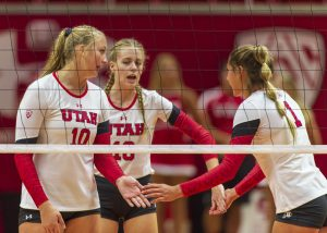 Utah Volleyball Falls to Competitive Northern California Schools
