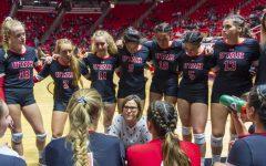 No. 20 Utah Volleyball has Big Weekend Wins in Arizona