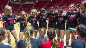 No. 20 Utah Volleyball has Big Weekend Wins in Arizona