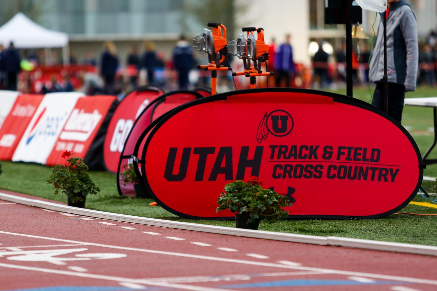 The University of Utah and Weber State host the Utah Spring Classic at the McCarthey Family Track and Field Complex in Salt Lake City, UT on Friday April 06, 2018. (Photo by Curtis Lin/ Daily Utah Chronicle)