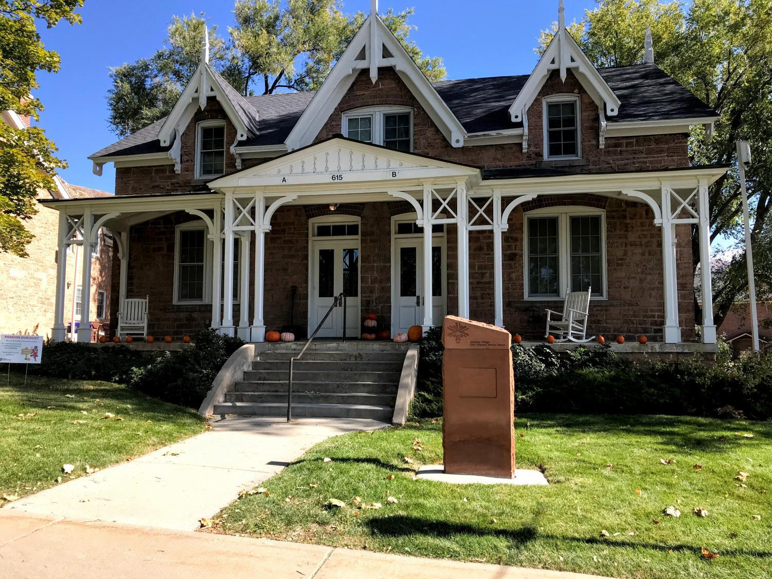 Officer's Circle houses. Chronicle archives.