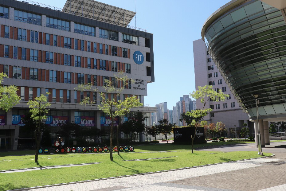 Incheon Global Campus located in South Korea. (Photo by Mitch Shin | The Daily Utah Chronicle)
