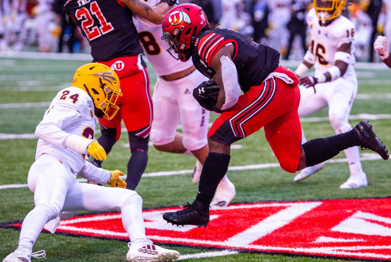 NCAA Football game vs. Arizona State University at Rice-Eccles Stadium in Salt Lake City, UT on Saturday October 19, 2019. (Photo by Tom Denton | Daily Utah Chronicle)
