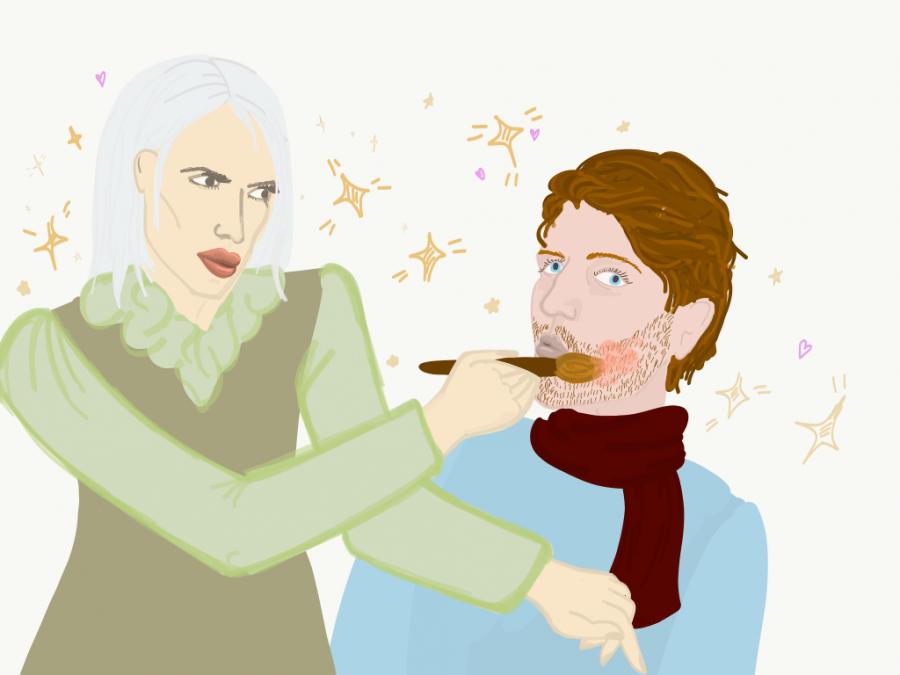 Cartoon of Jeffree Star and Shane Dawson | via Isabelle Schlegel