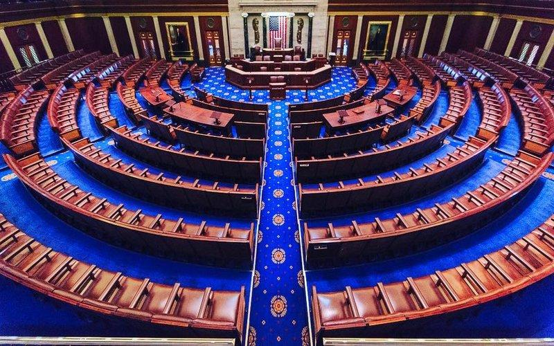 U.S. House of Representatives chamber. (Courtesy Wikimedia Commons)