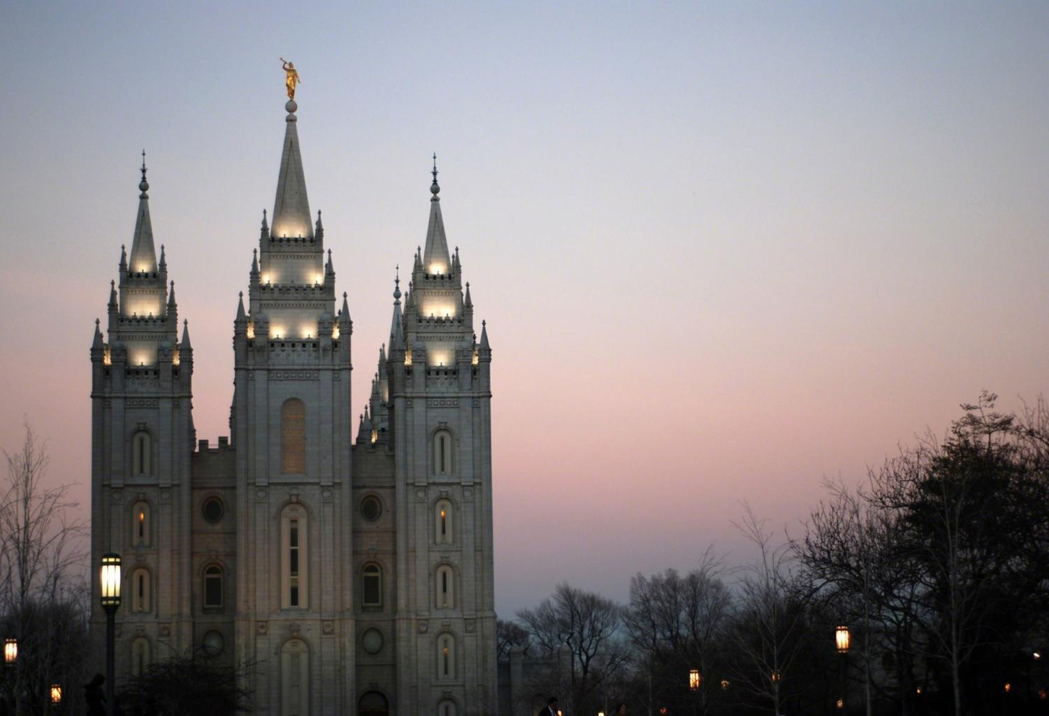 The Salt Lake Temple in downtown Salt Lake City. Chronicle archives