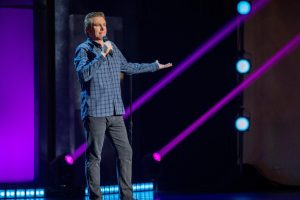 Brian Regan Charmed Audience at the U