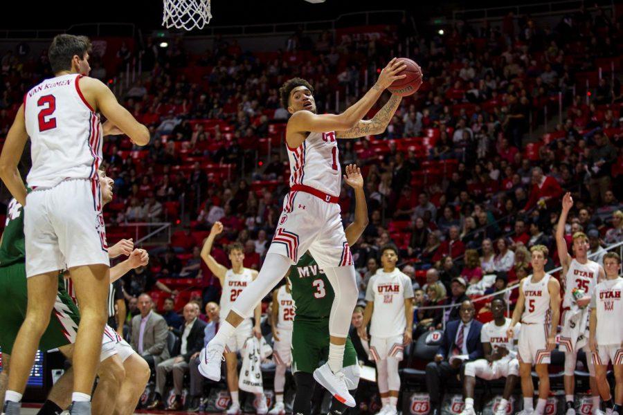 University+of+Utah+sophomore+forward+Timmy+Allen+%281%29+grabbing+an+offensive+rebound+in+an+NCAA+Men%27s+Basketball+game+vs.+Mississippi+Valley+State+University+at+Jon+M.+Huntsman+Center+in+Salt+Lake+City%2C+UT+on+Friday%2C+Nov.+8%2C+2019.+%28Photo+by+Curtis+Lin+%7C+Daily+Utah+Chronicle%29