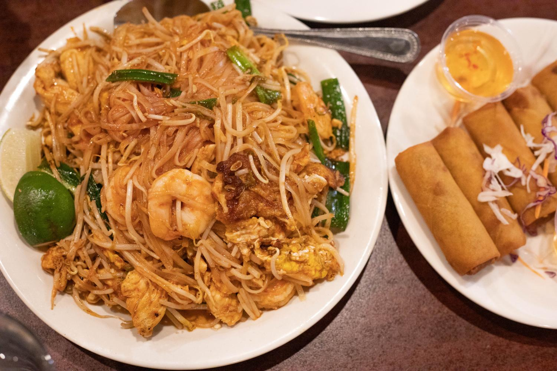 Sawadee Thai Restaurant in Salt Lake City, Utah. (Photo by Cassandra Palor | Daily Utah Chronicle)