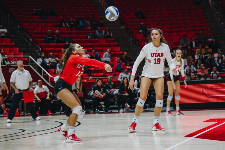 Utah Volleyball Splits Series in Washington