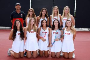 Utah Women's Tennis Wraps Up Competition in San Diego