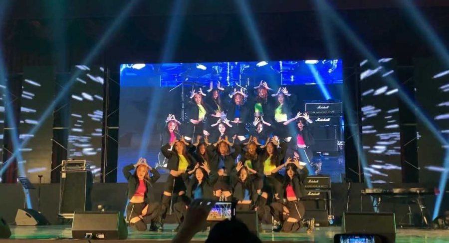 U Go Girl performing on stage. (Courtesy Ruri Lee)