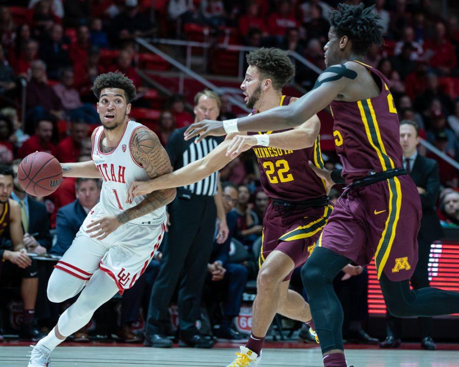 Utah Men's Basketball Gets Two Wins at Home
