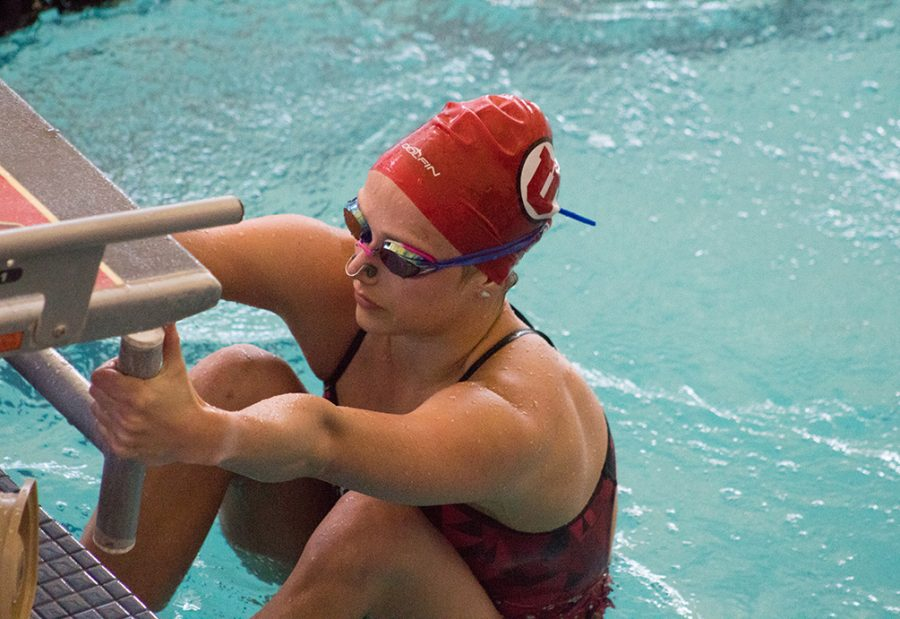 Utah Swim and Dive Has Successful Weekend at Home and on the Road