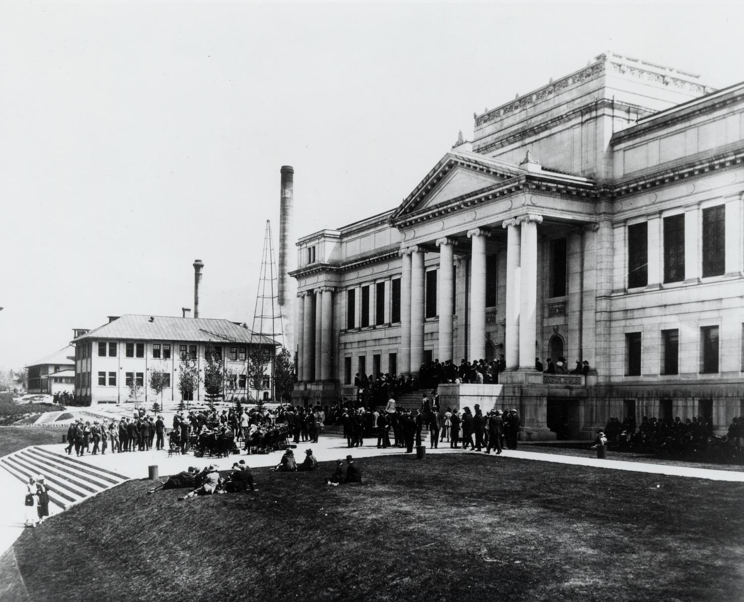 Park Building (Courtesy Marriot Library Archive)