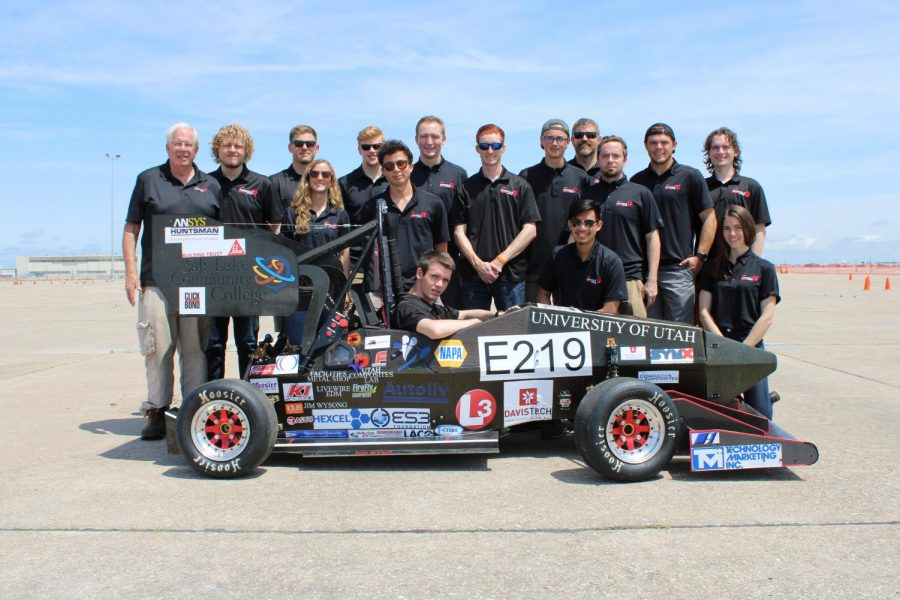 The+2019+Formula+U+Racing+Team+at+the+national+competition+in+Lincoln+Nebraska.+%28Courtesy+Formula+U+Racing+Team%29