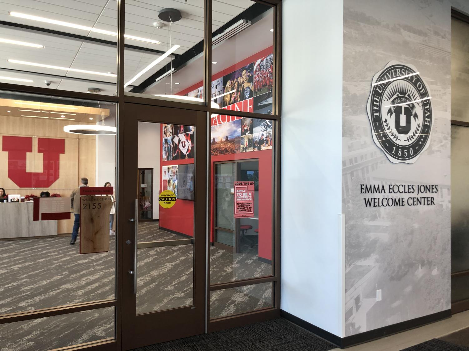 The Welcome Center inside Gardner Commons | Chronicle archives