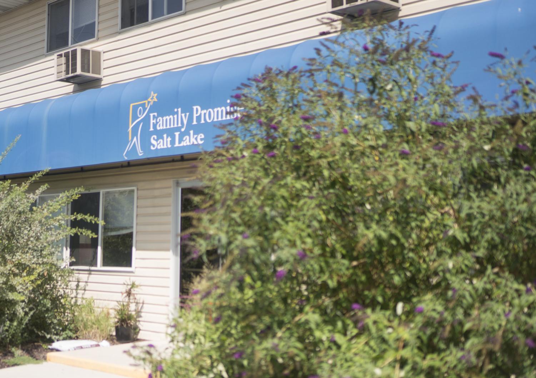 The Family Promise Salt Lake Shelter for the homeless on Tuesday, Aug. 15, 2017. (Photo by Rishi Deka | Daily Utah Chronicle)