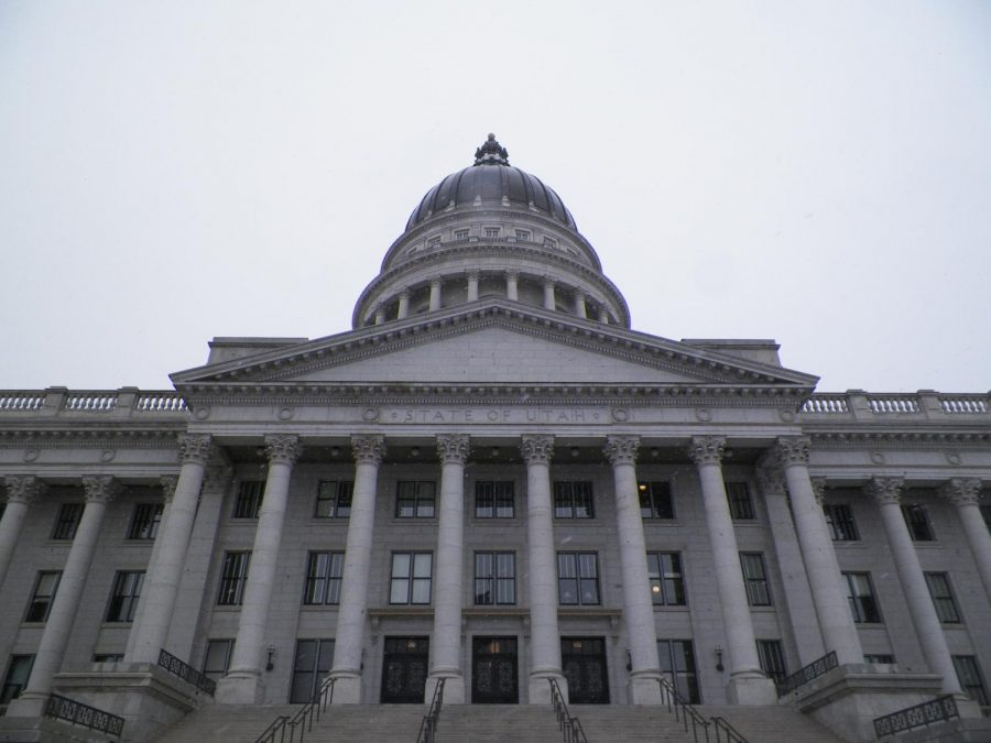 The Utah State Capitol building | The Daily Utah Chronicle archives