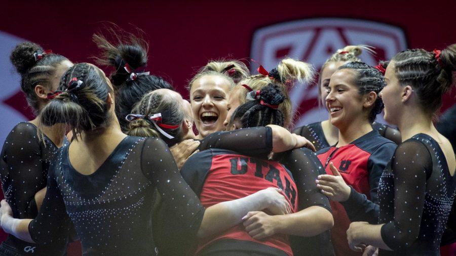 No. 3 Utah Gymnastics Falls on Floor, Still Comes Out Victorious