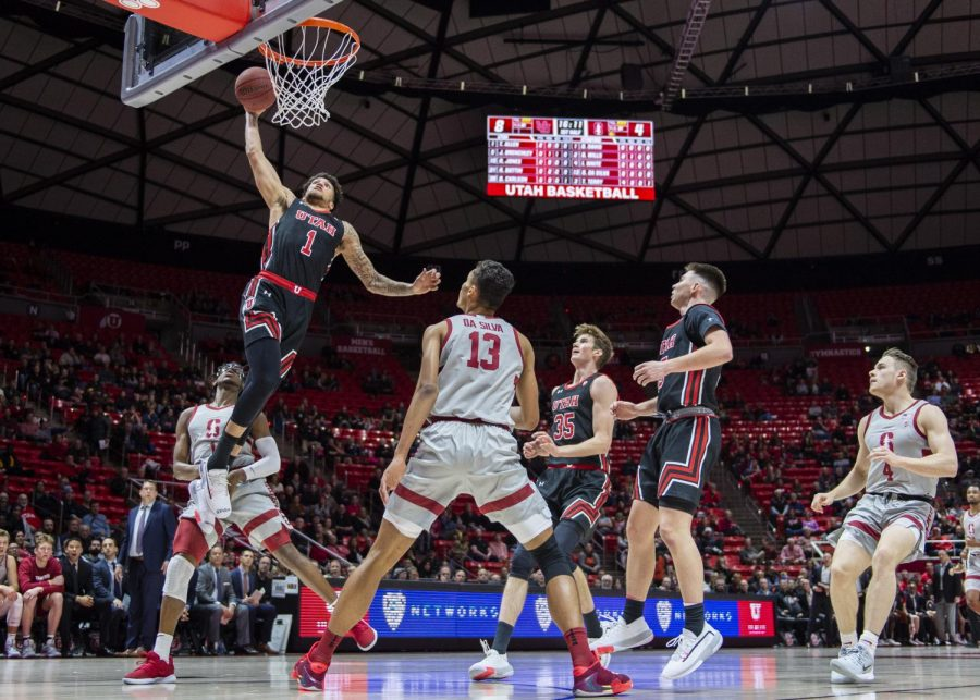 Utah Men's Basketball Moves to 10-1 at Home After Weekend Sweep