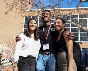 Kum Ticket wins the ASUU presidential candidacy on Feb. 28, 2020 at University of Utah. (Photo by Ivana Martinez | Daily Utah Chronicle)