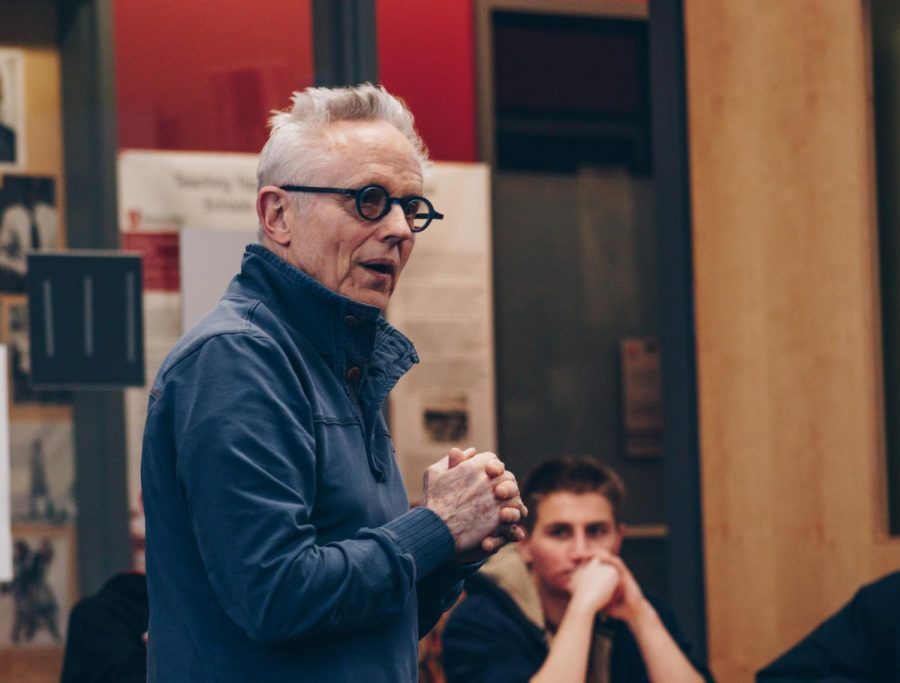Professor Phillp Bimstein leads his course 'Radical Quiet' at the Marriott Honors Community Building, University of Utah Campus, Salt Lake City, UT on Monday, February 10th, 2020. (Photo by Mark Draper | The Daily Utah Chronicle)