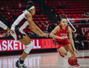 Utah Women's Basketball Drops Two Home Games to Stanford, Cal