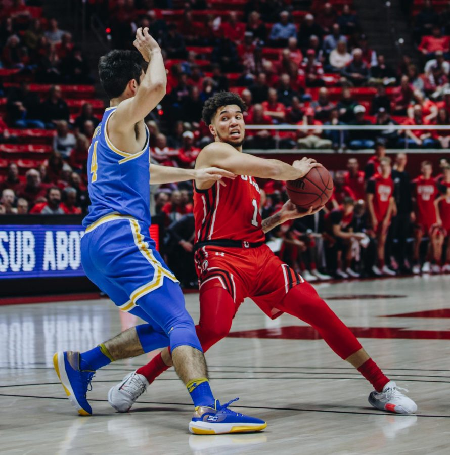 The+University+of+Utah+Men%27s+Basketball+team+plays+UCLA+at+the+Huntsman+Center%2C+University+of+Utah+Campus%2C+Salt+Lake+City%2C+on+Thursday%2C+Feb.+20%2C+2020.+%28Photo+by+Mark+Draper+%7C+Daily+Utah+Chronicle%29