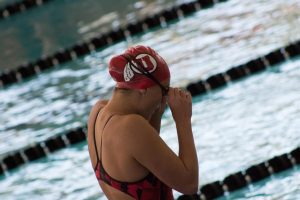 Women's Swim and Dive Team Sets Several New School Records but Finishes 7th at Pac-12 Championships
