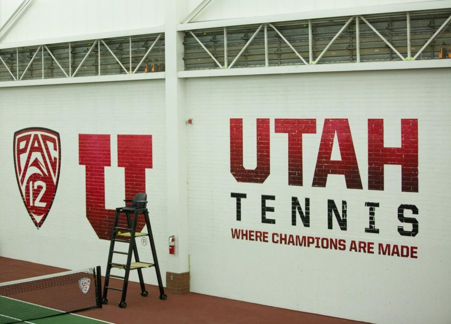 University of Utah NCAA Tennis match against University of Montana at the George S. Eccles Tennis Center in Salt Lake City, Utah on Saturday, Feb. 1, 2020. (Photo by Tom Denton | The Daily Utah Chronicle)