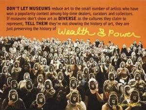 'Guerrilla Girls' Dare UMOCA Visitors to be Outraged