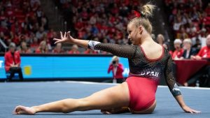 Watch Out for This Fierce Freshman: Gymnast Adrienne Randall is Fire on Floor and Beam
