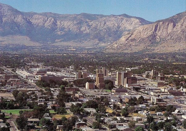 Ogden, Utah. Courtesy of Wikimedia Commons.
