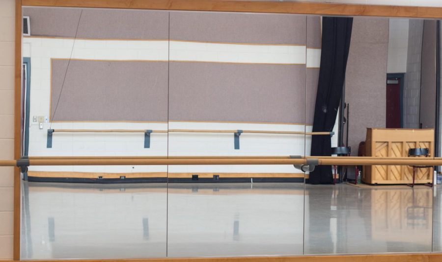 An empty studio at the Marriott Center for Dance at the University of Utah | Chronicle archives