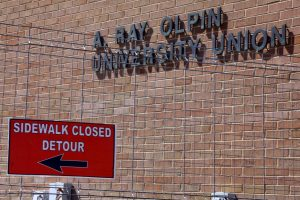 The A. Ray Olpin University Union will be closed until at least April 20. | Chronicle archives
