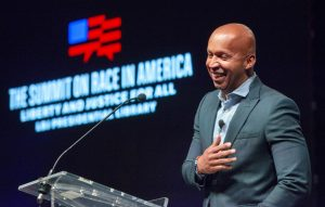 Attorney Bryan Stevenson, 2019. Image via WikiMedia Commons