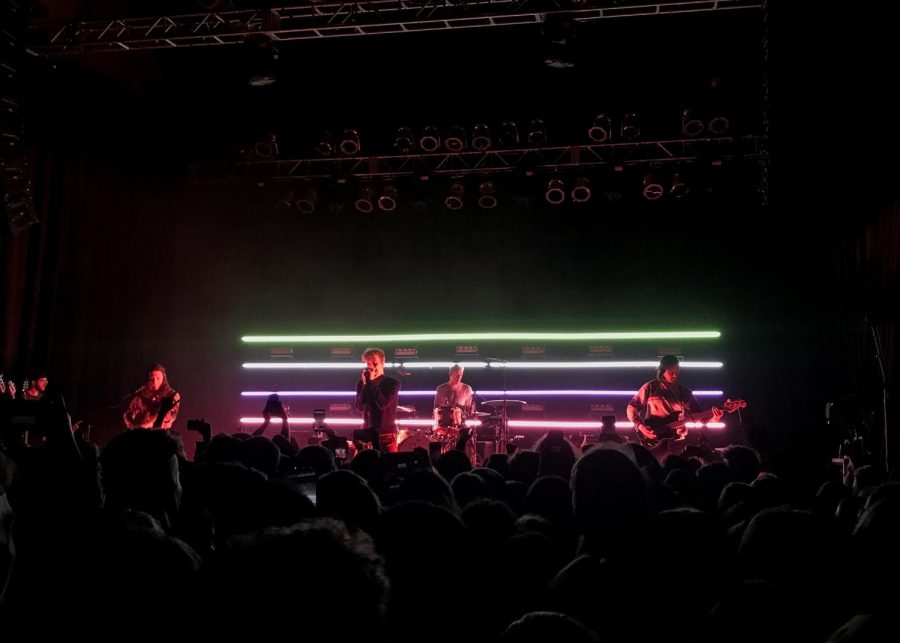 COIN performs at The Depot on Feb. 20, 2019. (Photo by Kate Button | Daily Utah Chronicle)