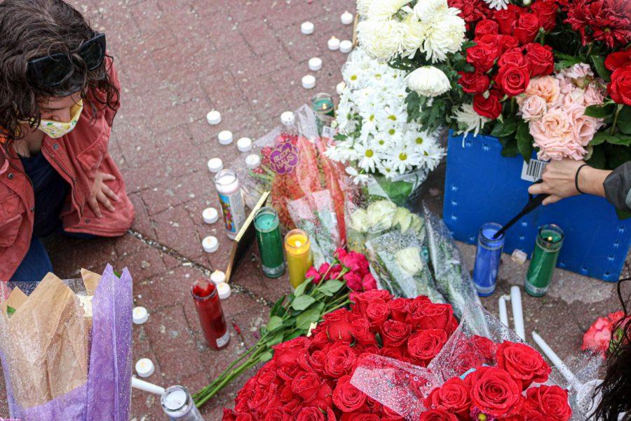 Vigil for Bernardo Palacios-Carbajal  at the Utah State Capitol on June 6, 2020. (Photo by Ivana Martinez | Daily Utah Chronicle)