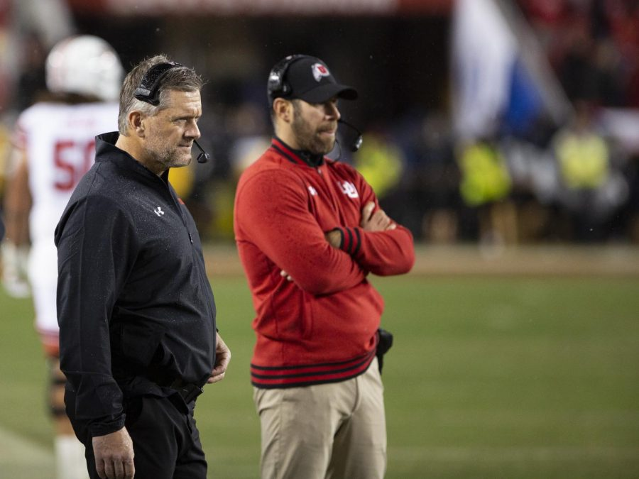 University+of+Utah+football+head+coach+Kyle+Whittingham+as+the+clock+winds+down+in+a+loss+to+the+University+of+Oregon+Ducks+in+the+2019+Pac-12+Championship+football+game+at+Levi%E2%80%99s+Stadium+Dec.+6.+%28Justin+Prather+%7C+Daily+Utah+Chronicle%29