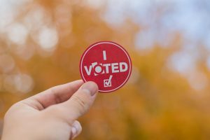 People casted their votes during the Midterm Elections 2018 at the Salt Lake County Building in Salt Lake City, UT on Tuesday October 23, 2018.(Photo by Curtis Lin   Daily Utah Chronicle)