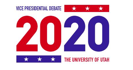 Vice presidential debate logo. (Courtesy of vice presidential debate style guide).
