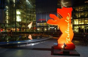 The Berlinale Bear in the Sony Center at Potsdamer Platz (Courtesy Internationale Filmfestspiele Berlin Press Office)