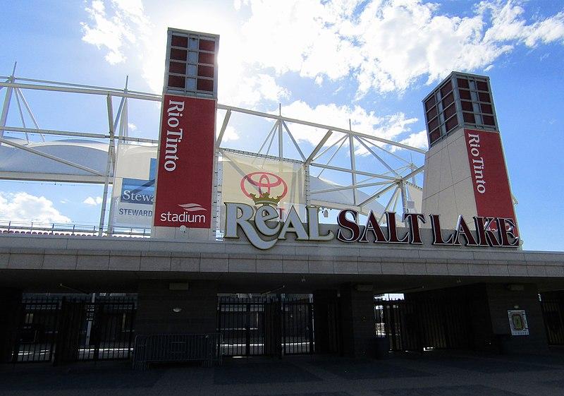 Rio+Tinto+Soccer+stadium+in+Sandy%2C+Utah.+%28Image+via+Wikimedia+Commons%29%0A