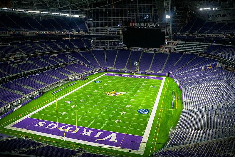 The home of the Minnesota Vikings. (Image via WikiMedia Commons)