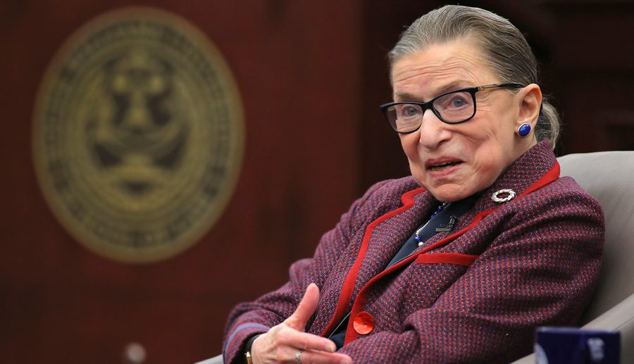 Ruth Bader Ginsburg talks about Womens' rights and equality in the documentary RBG (2018)  (Source: https://saportareport.com/rbg-a-love-letter-movie-to-justice-ruth-bader-ginsburg/)