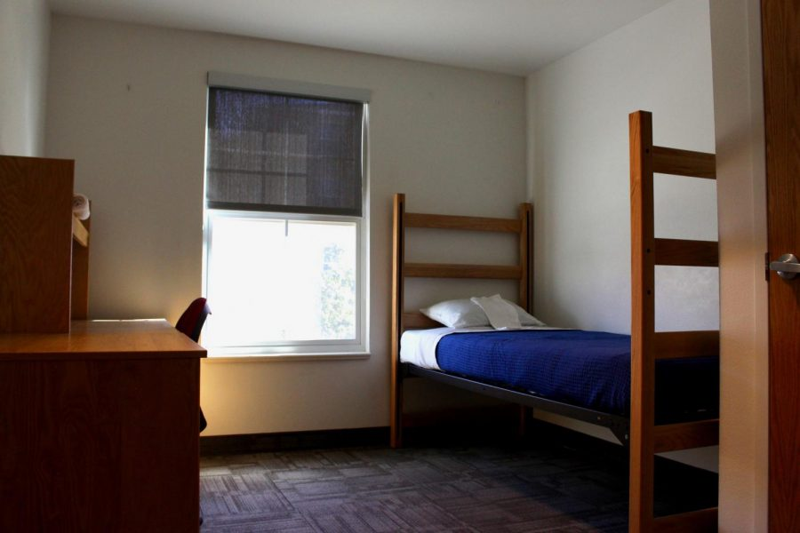 One of the many designated isolation rooms on campus at the University of Utah on September 2nd 2020. (Photo by Gwen Christopherson  The Daily Utah Chronicle)