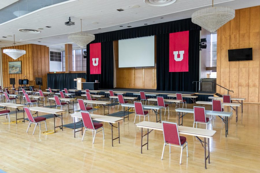 The A. Ray Olpin Student Union building's Ballroom in Salt Lake City. Taken on September 21st (Photo by Jack Gambassi | The Daily Utah Chronicle)