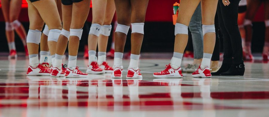 The University of Utah Volleyball team plays against Arizona State University in the Huntsman Center, University of Utah Campus, Salt Lake City, UT on Friday, November 1st, 2019. (Photo by Mark Draper | The Daily Utah Chronicle)