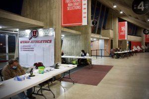 Voting at the U: Inside the Huntsman Center